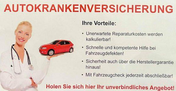 Autokrankenversicherung